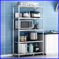 Stainless Steel Kitchen Rack Storage Commercial Catering Microwave Oven Shelf