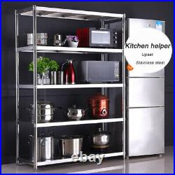 Stainless Steel Kitchen Racks Heavy Duty Storage Commercial Shelf Catering Unit