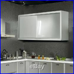 Stainless Steel Large Storage Pantry Wall Cupboard 120CM Hung Commercial Kitchen