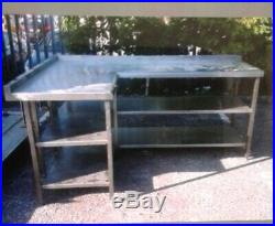 Stainless Steel Prep eration Table Run 20001400900 commercial kitchen