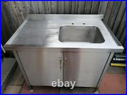 Stainless Steel Sink Unit, Catering, Industrial, Commercial Kitchen