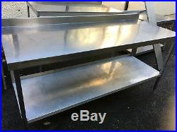 Stainless Steel Table Commercial Kitchen Catering Heavy Duty