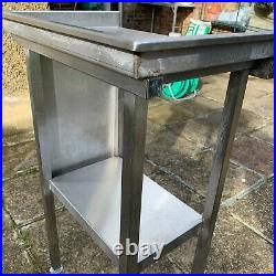 Stainless Steel Table Worktop Kitchen Unit Commercial Takeaway Restaurant