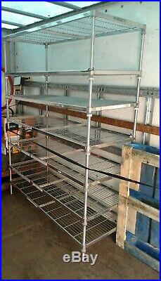 Stainless steel 7 tier racking 15006002000 commercial kitchen