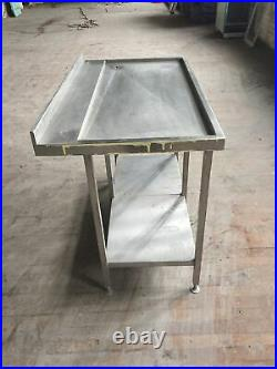 Stainless steel commercial kitchen Drainer Unit