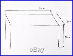 Stainless steel commercial kitchen table worktop catering restaurant bench