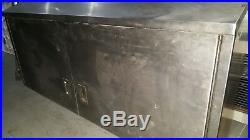 Stainless steel kitchen commercial food cabinet catering equipment