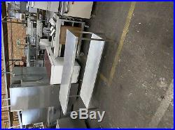 Stainless steel worktop table bench table heavy duty commercial 180X60X87 CM