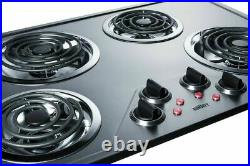 Summit CR430SS 30 Wide ADA Compliant Built-In Electric Cooktop Stainless