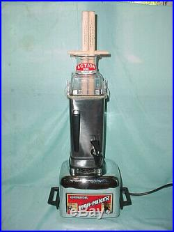 Vitamix Commercial Vita-Mixer Maxi-4000 Stainless Steel Blender 3 Speed Withlid