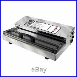 Weston Pro 2300 Commercial Grade Stainless Steel Vacuum Sealer 65 0201 Double