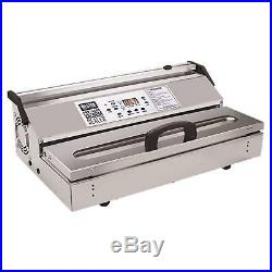 Weston Pro-3500 Commercial Grade Vacuum Sealer, 15 bar, Stainless Steel