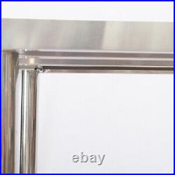Work Bench Catering Table Kitchen Worktop Prep Commercial Stainless Steel Silver
